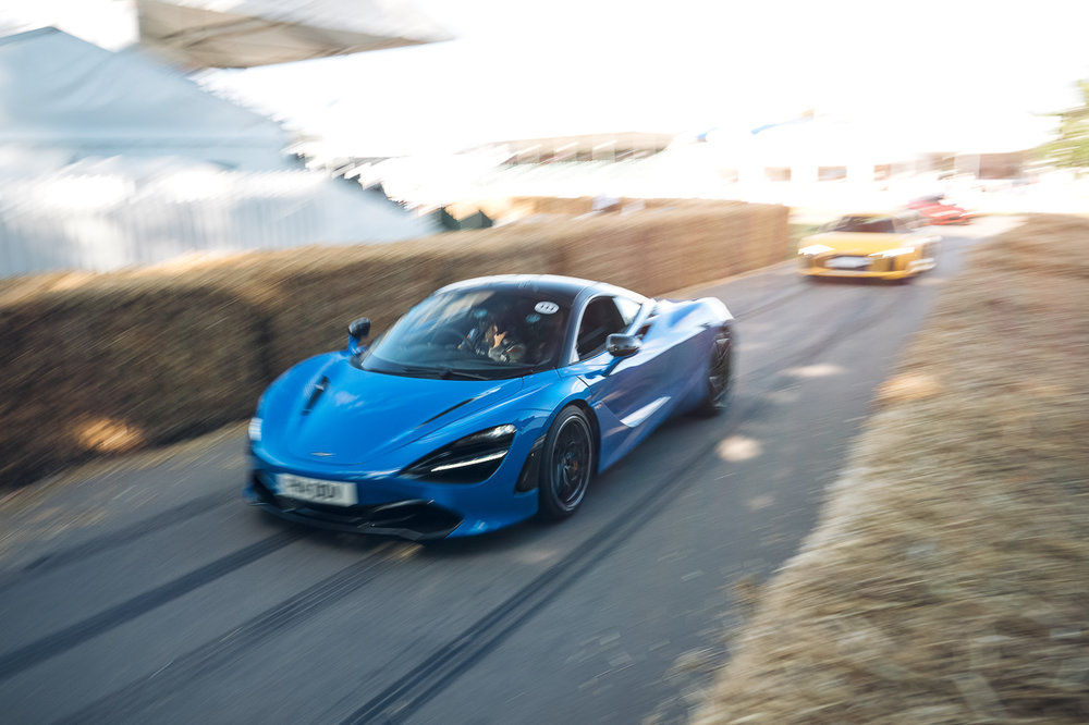McLaren 720s at Goodwood