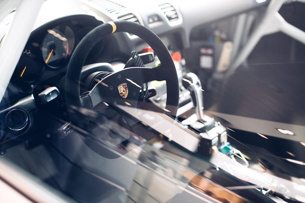 Porsche Cayman GT4 Racecar