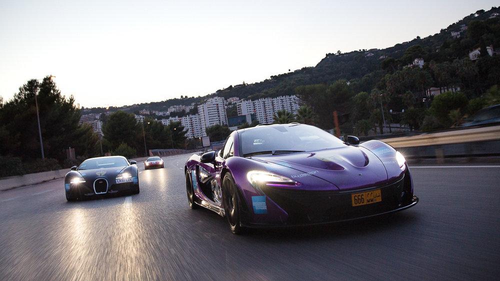 McLaren P1 Bugatti Veyron