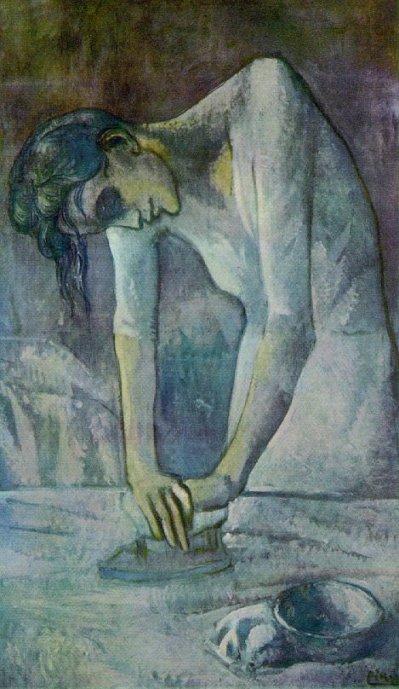 La Repasseuse, Pablo Picasso