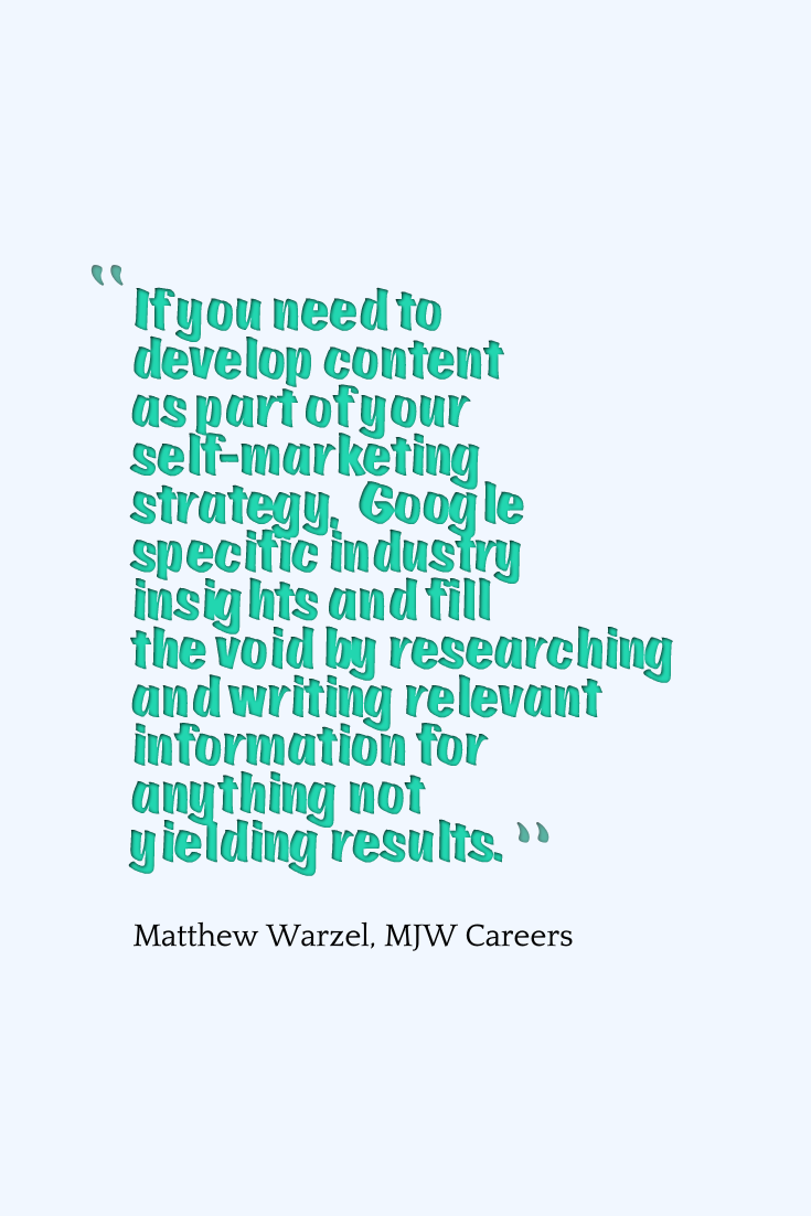 Daily Job Hunting Quote Mjw Careers Outplacement And Resume