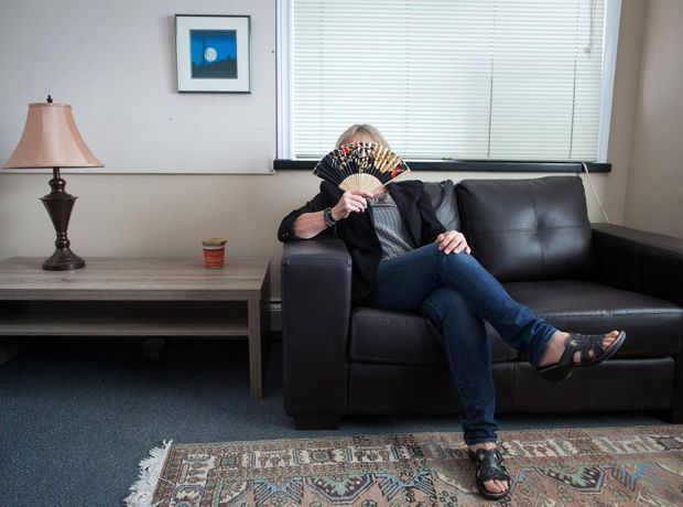 Lana, 60, wants to reduce her workload and then retire fully by 70.  DARRYL DYCK/THE GLOBE AND MAIL