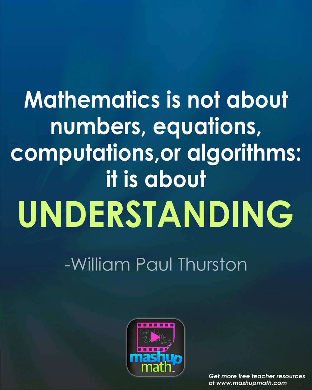 17 Groovy Math Quotes to Post in Your Classroom — Mashup Math