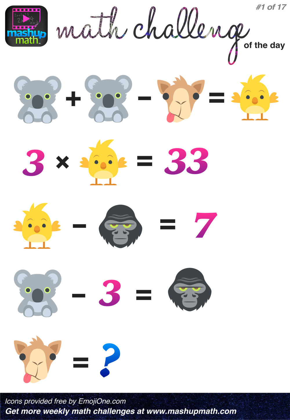 It is an image of Légend Math Challenge Puzzles