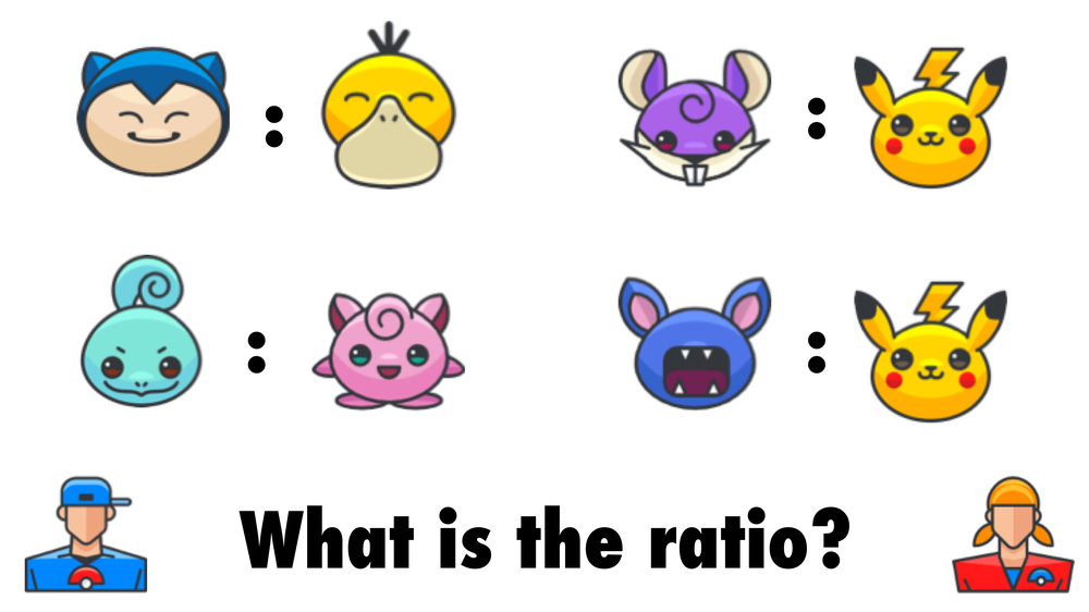 Sample questions for exploring ratios using the tally chart activity.