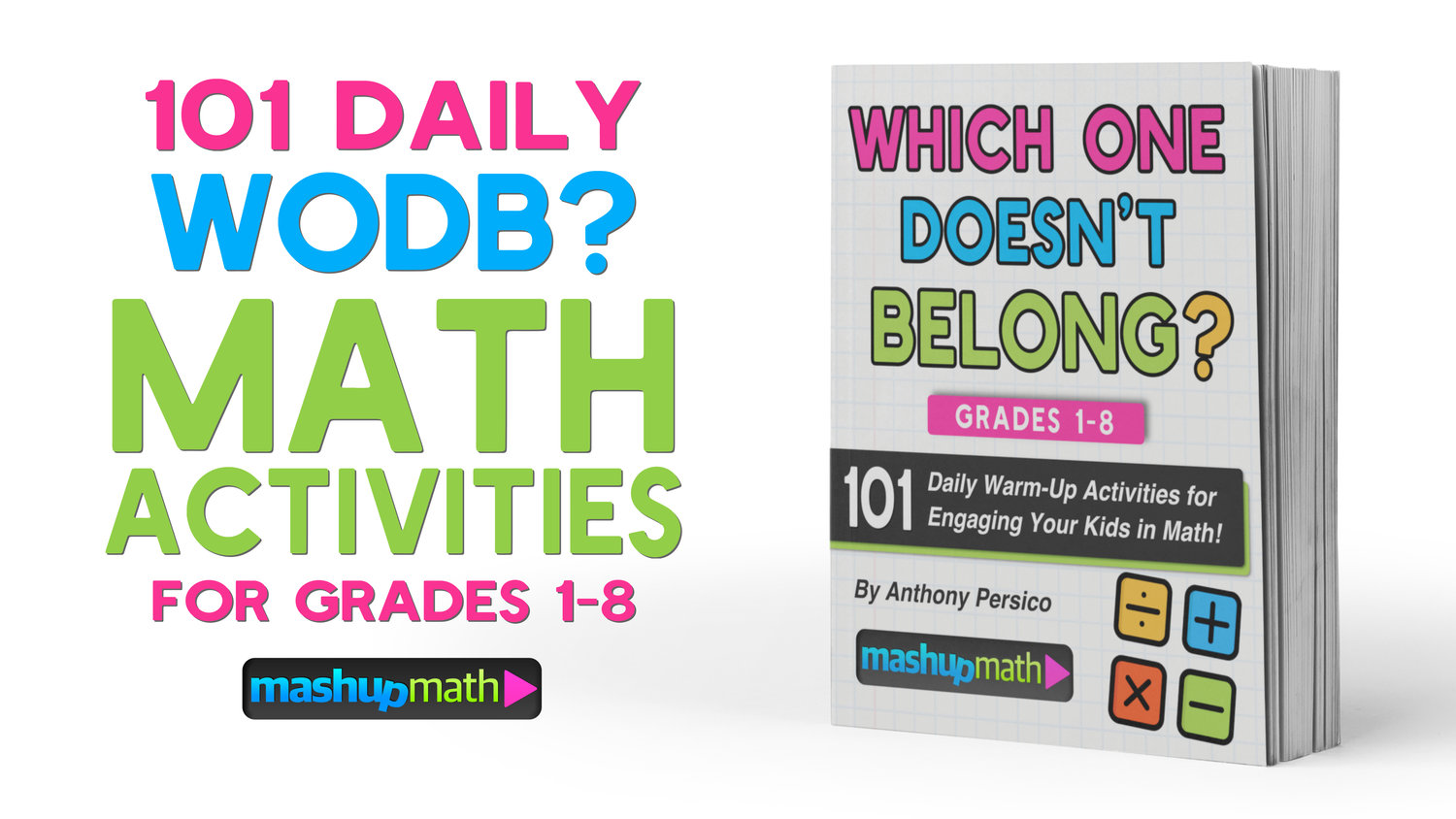 101 Daily 'Which One Doesn't Belong?' Activities for Grades