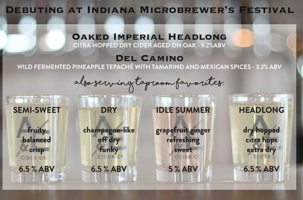 Microbrewers Festival lineup.