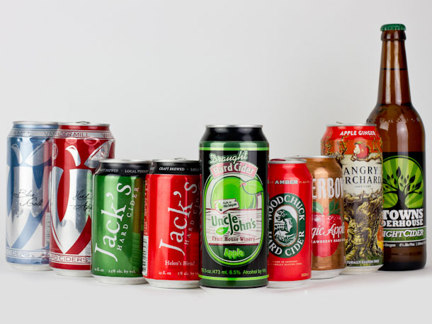 Here are just some of the canned ciders on the market these days. Notice any trends?
