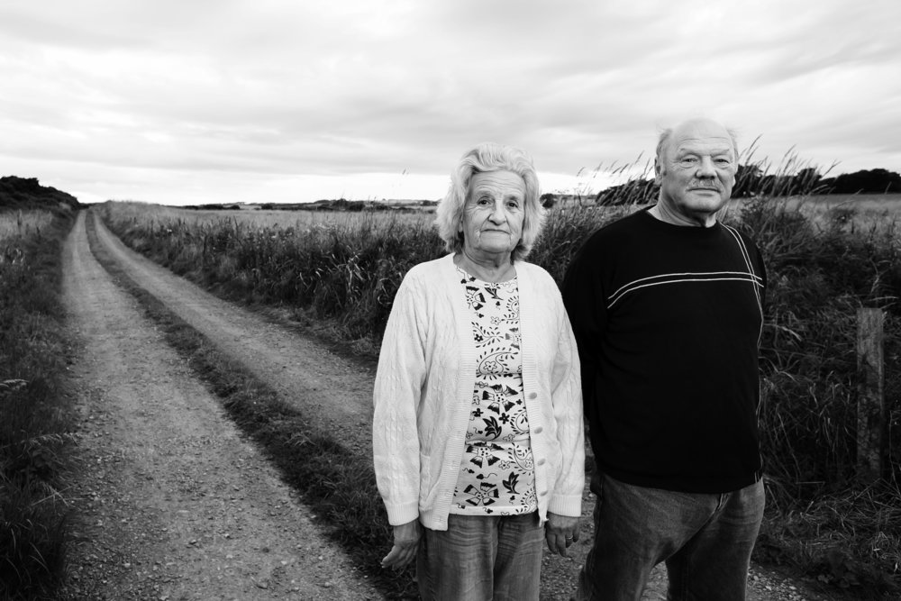 Michael and Sheila Forbes, who are fighting Donald Trump's takeover of their land in Scotland. Photo:  Photo (c)  Beowulf Sheehan