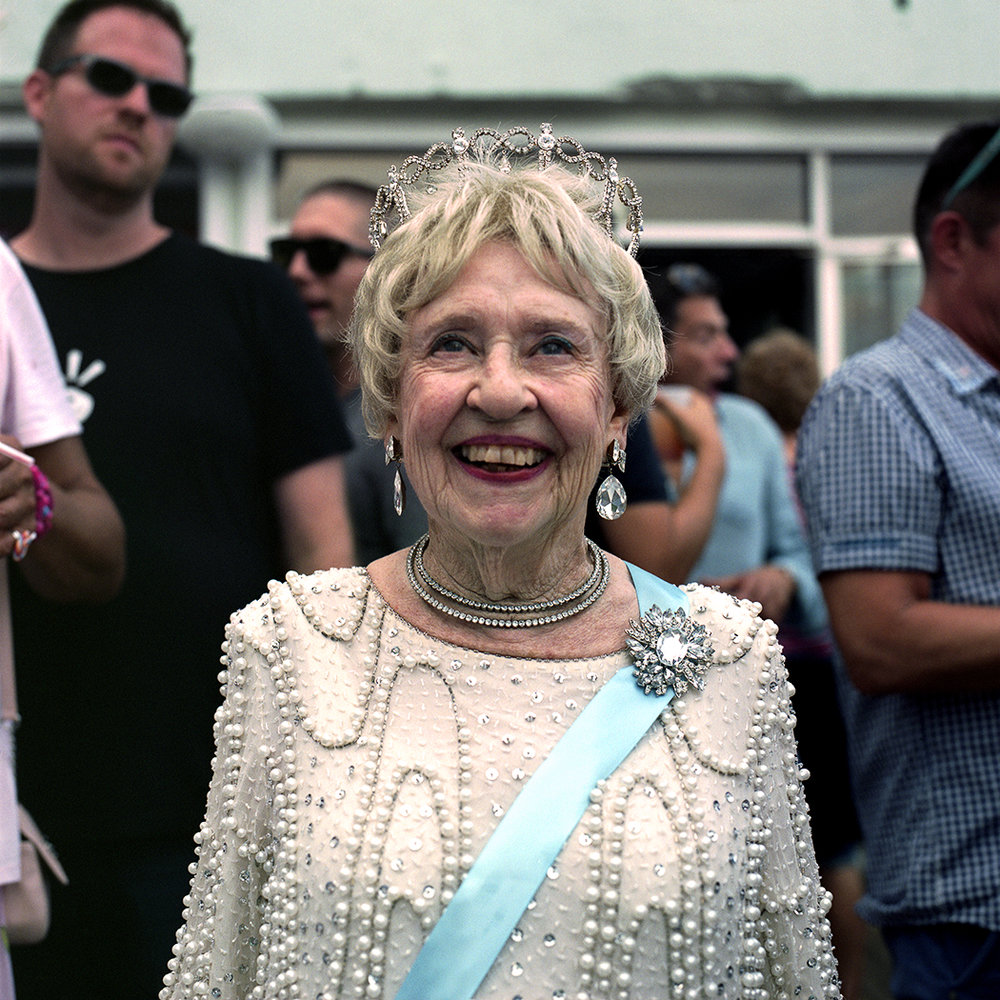 The Queen on her 90th, Provincetown MA