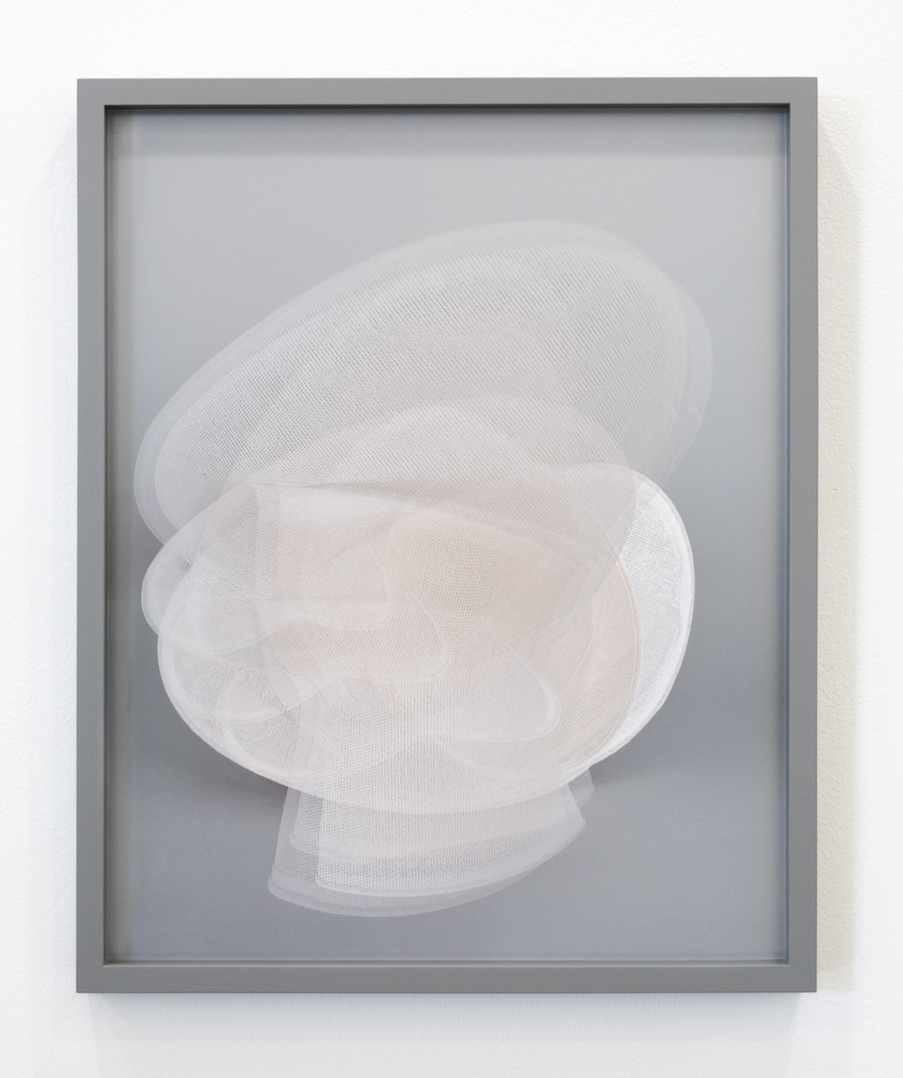 Melanie Flood  Untitled (2)   Unique archival pigment print,  custom maple frame, museum glass 16 x 20 inches 2016