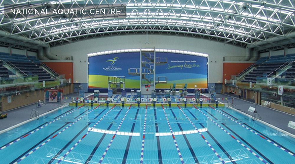 Visit www.nac.ie for the latest news and updates from the National Aquatic Centre