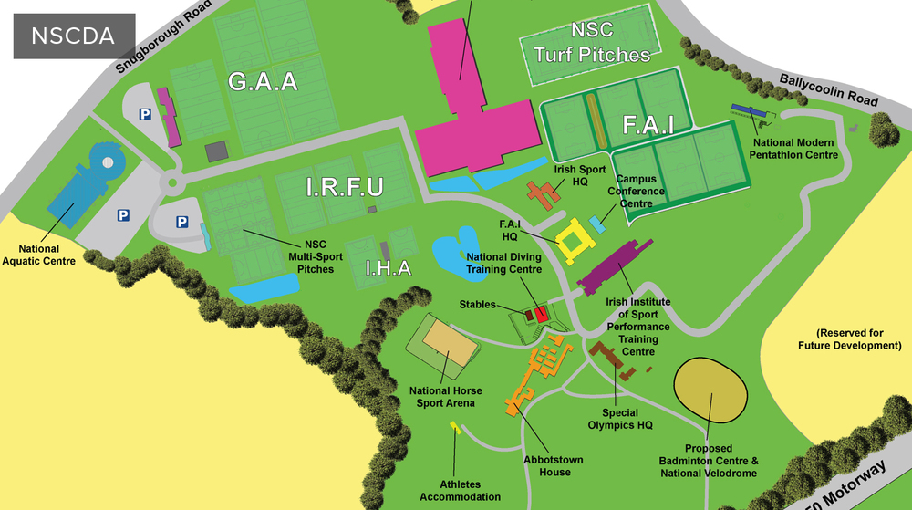 Visit www.nscda.ie for all the latest on developments at the National Sports Campus