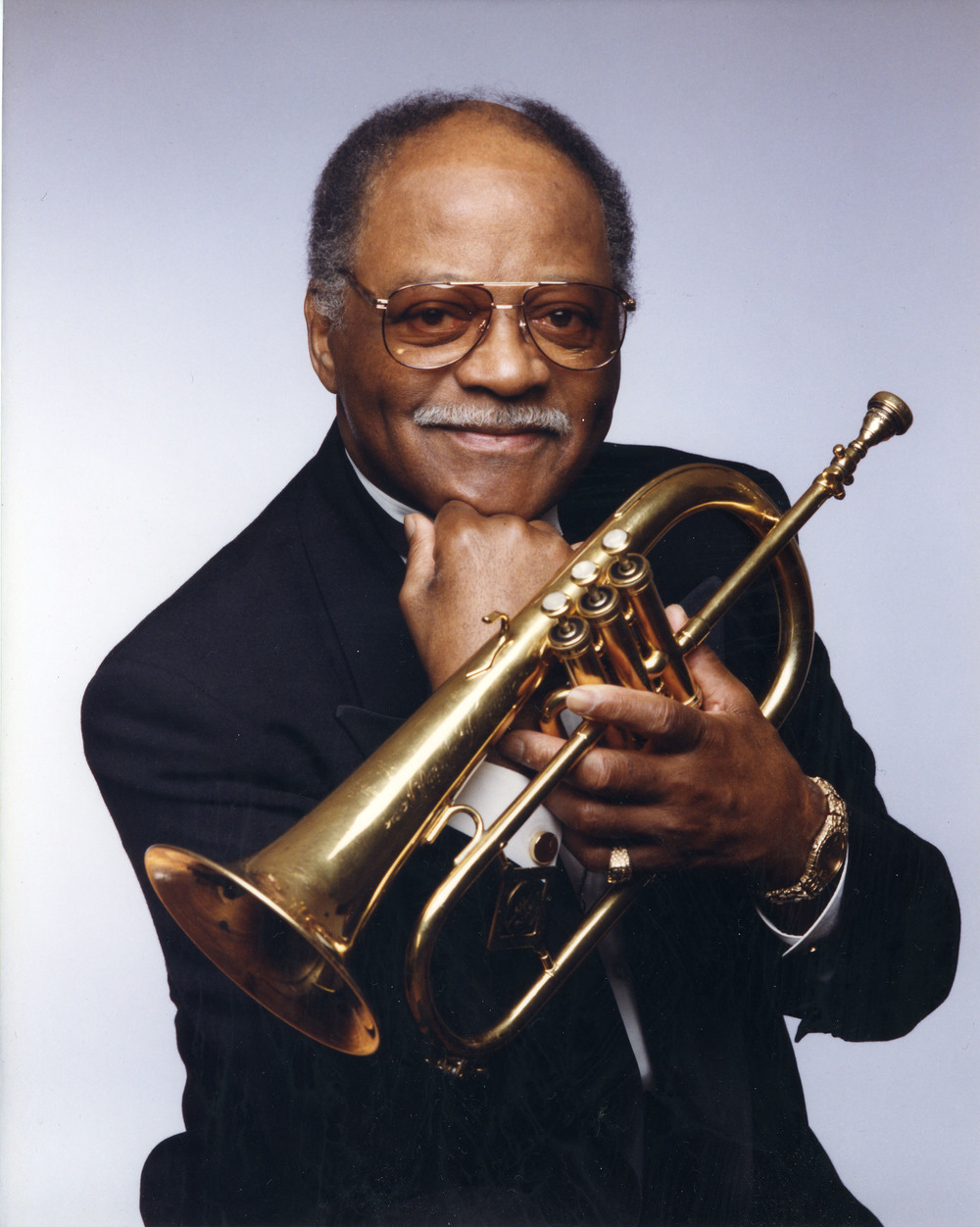 Clark Terry, via  clarkterry.com