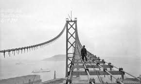 (The San Francisco Bay Bridge via  historyinphotos.blogspot.com )