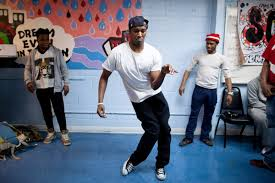 The Harlem Shake.  Image via nytimes.com.