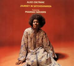 Alice Coltrane's album  Journey in Satchidananda . Image via  365jazz.wordpress.com