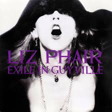 One of the most enduring albums of the 1990s and also one of the most idiosyncratic—Liz Phair's  Exile in Guyville .  Image via  coveralia.com .