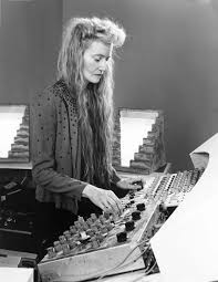 Composer Maryanne Amacher.  Image via  sound-art-text .com.