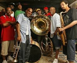 The Rebirth Brass Band.  Image via  rebirthbrassband.com .