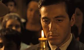 Al Pacino as Michael Corleone. Image via  theguardian.com .