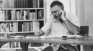 Hemingway is said to have aimed for 500 words a day.  Image via  www.authenticubatours.com