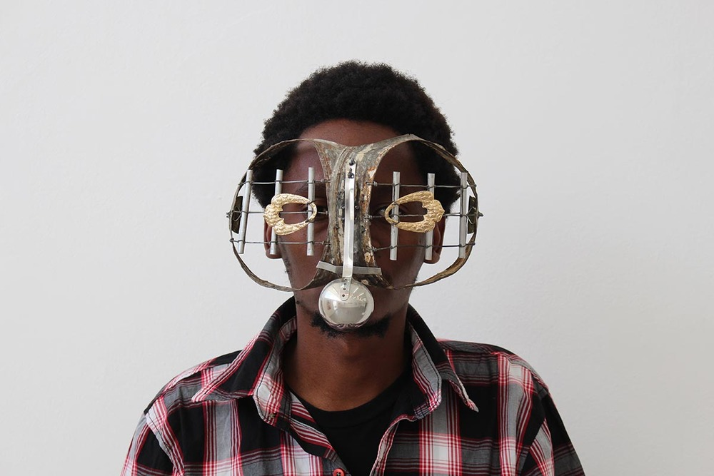 """Zulu Mask,"" 2010  image   via   ckabiruart.daportfolio.com"