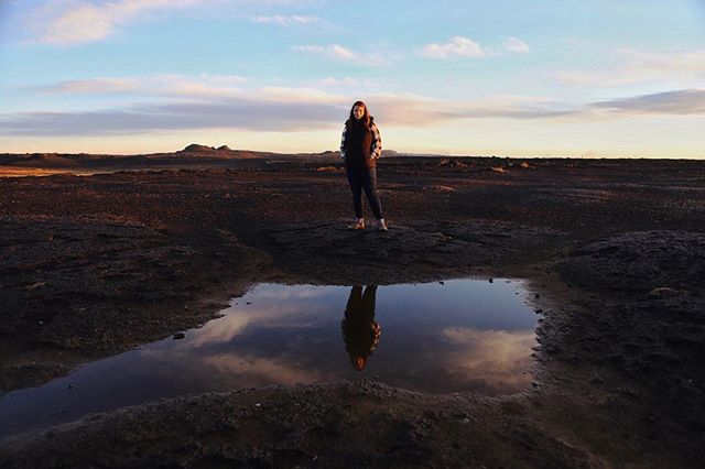 @leeshbear and I are in Iceland.  It's amazing.  Don't believe me?  Check my story.