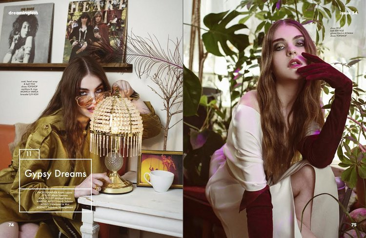 Dreamingless Print Issue 34  |Wardrobe & Casting|