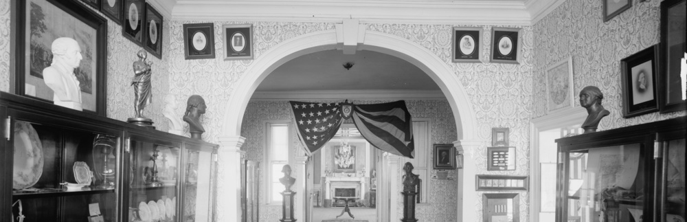 When the museum first opened in 1907 it was nearly exclusively focused on celebrating George Washington's time at Mount Morris.