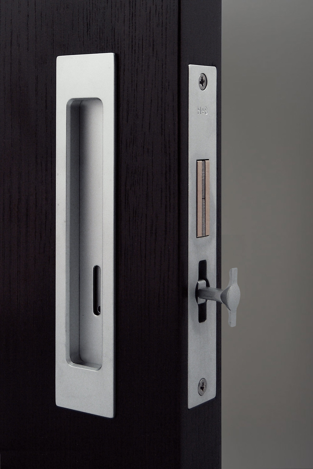 HB 690 : Sliding Pocket Door Privacy Lock Set