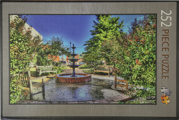 Pocket Park 250 piece Jigsaw Puzzle $20.00