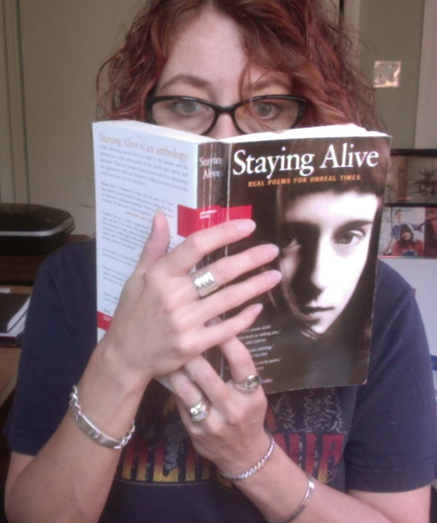 Heather LoseAging HipsterFridays, 5–7 PMStaying Alive:Real Poems for Unreal TimesEdited by Neil AstleyMiramax Books -