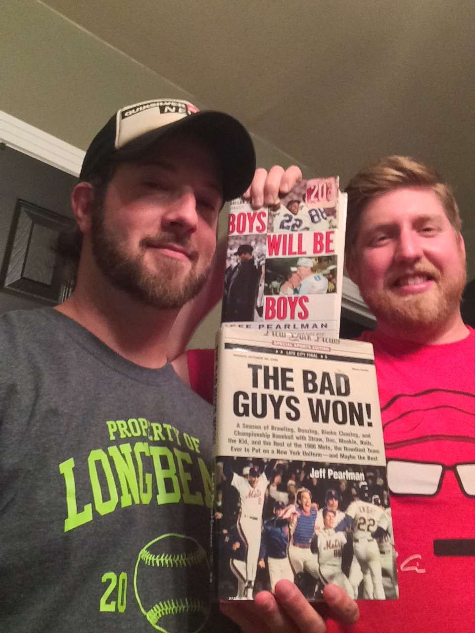 Drew & DaveWalk It Off!Sundays, 11 PM – 12 AMBoys Will Be Boys / The Bad Guys Won!Jeff PearlmanHarperCollins -