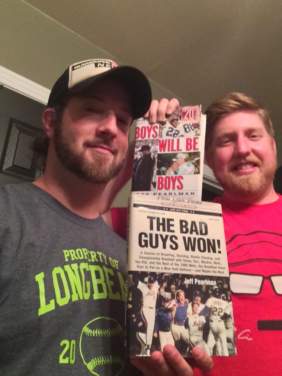 Drew & DaveWalk It Off!Sundays, 11 PM –12 AMBoys Will Be Boys / The Bad Guys Won!Jeff PearlmanHarperCollins -