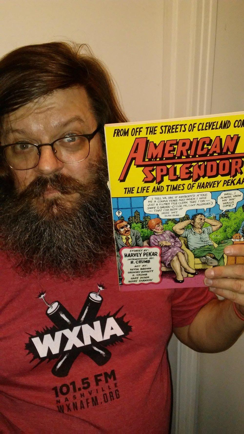 DJ rhatfinkThe ContinentalThursdays, 7-9 AMAmerican SplendorHarvey PekarHarvey Pekar / Dark Horse Comics / DC Comics -