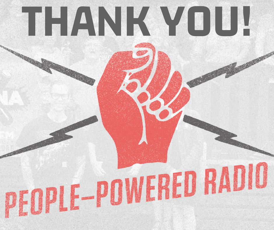 - We are humbled and flattered by the response to our Spring Pledge Drive and wish to thank everyone who reached out over the past week and helped us achieve our goal. The coming months will bring about great change at WXNA - thanks to the power of the people!