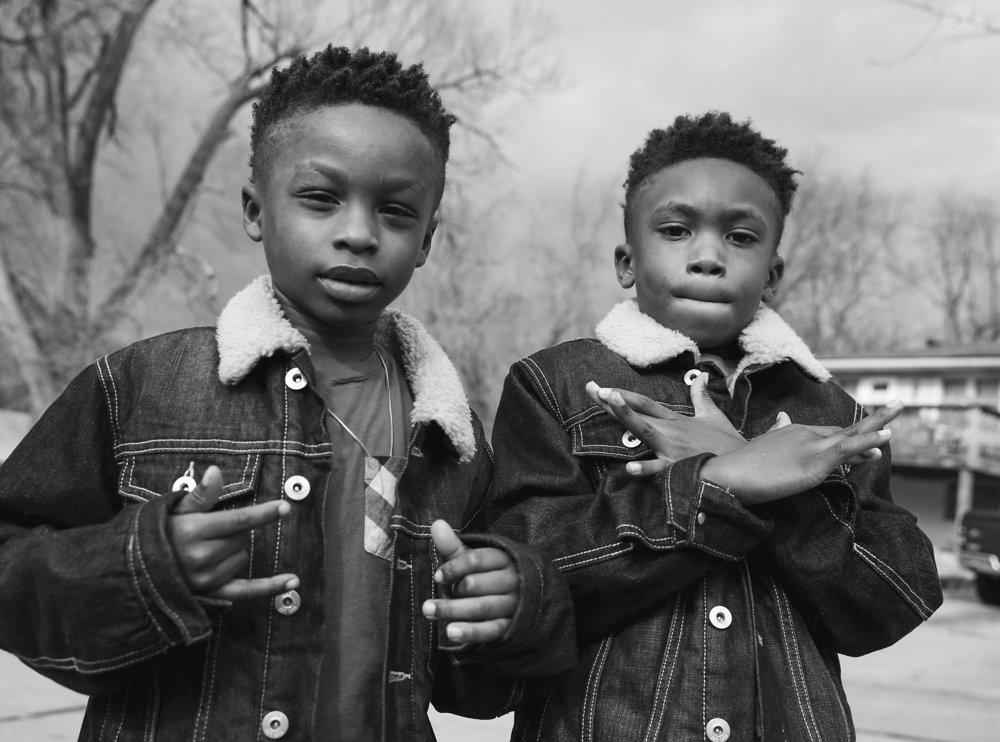 Ty & Tristen. Ferguson, Missouri.