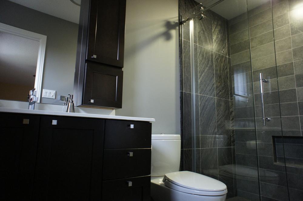 modern contemporary bathroom small practical mei kitchen bath