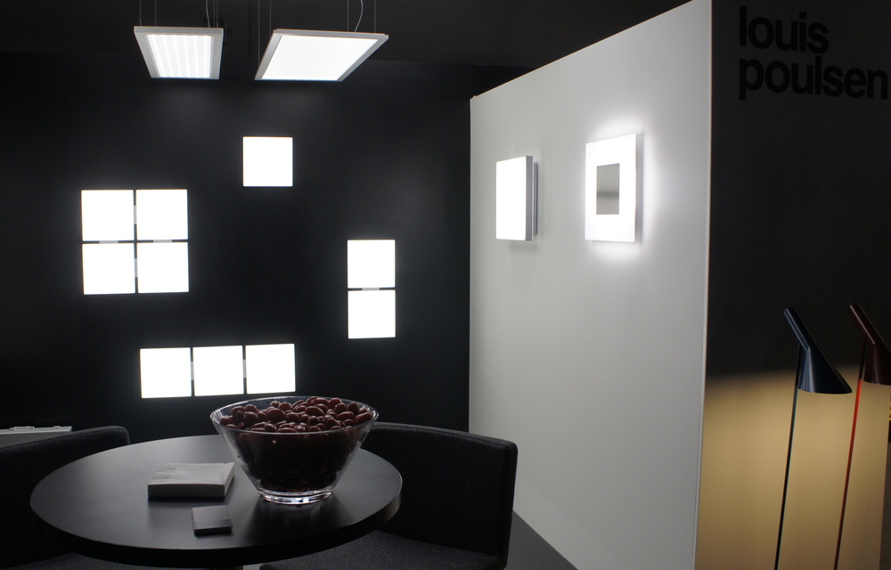 Bright LED lighting for an office or even for your basement