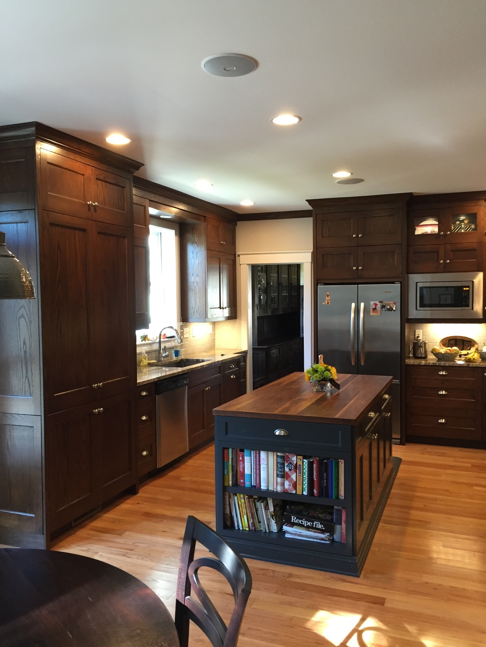 Turn Of The Century Traditional Kitchen Remodel