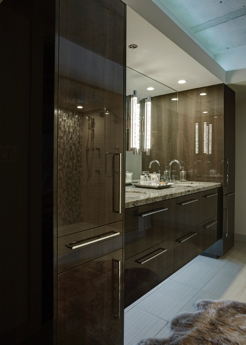 Cutting Edge Contemporary Bathroom