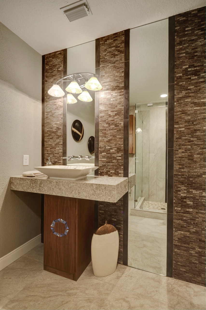 Stunning Contemporary Bathroom Vanity
