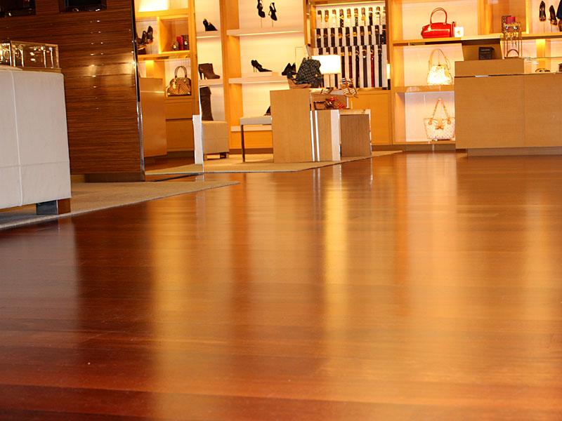 Louis Vuitton Store Flooring