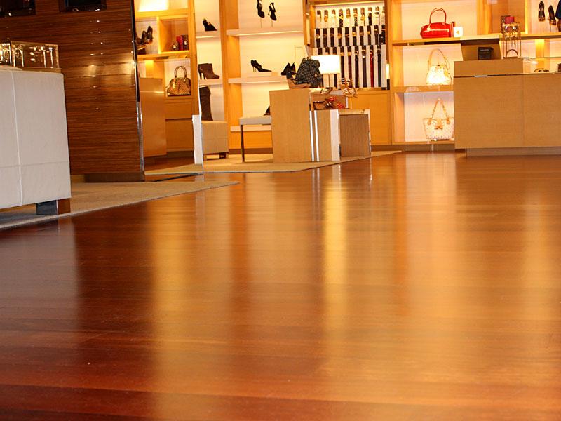 Louis Vuitton Store Flooring