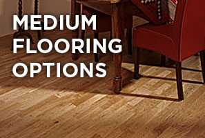 Medium wooden floor options