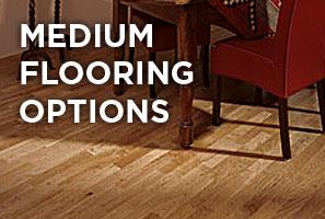 Medium wooden floor options
