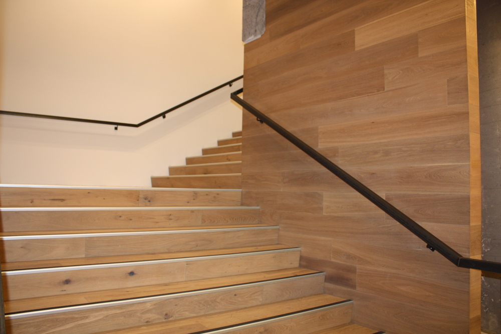 stairs completed by the Wooden Floor Company