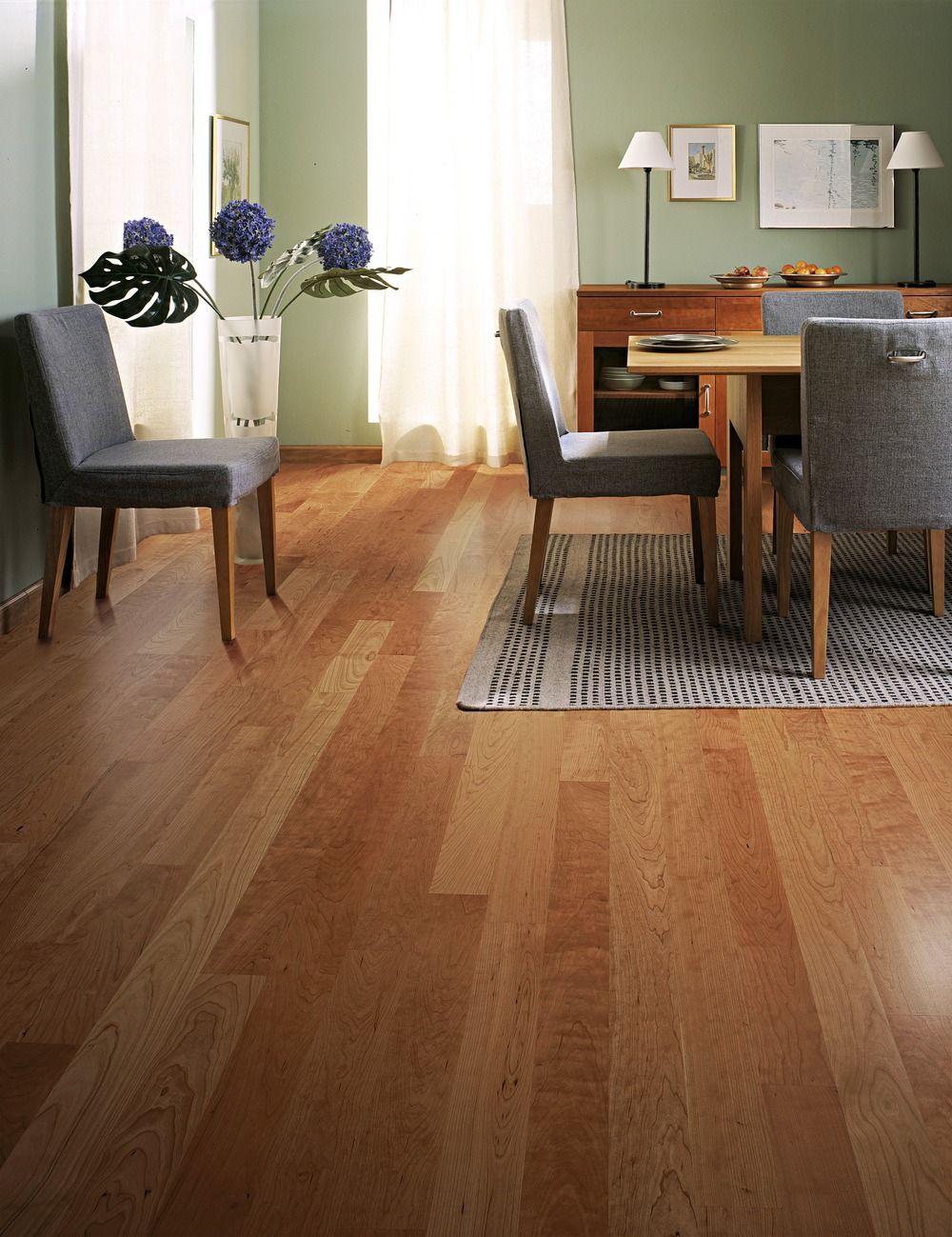 residential wooden floor design