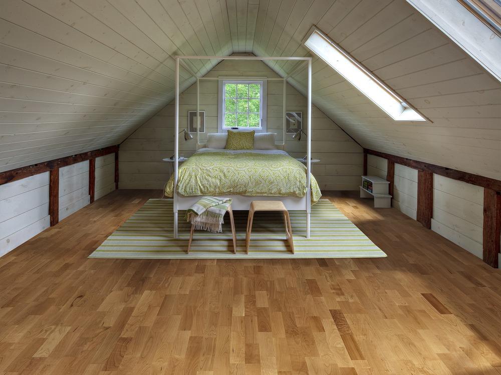 loft wooden floor